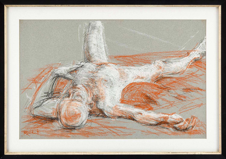 UW-Waukesha • 6/15/17 • Pastel on toned paper