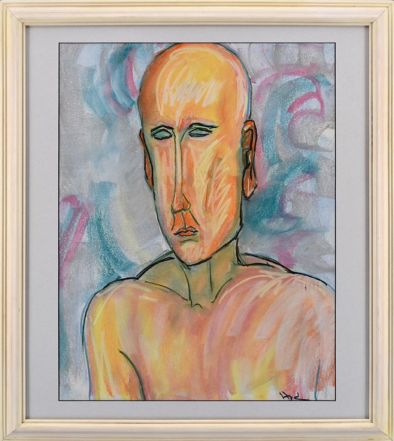 Artist: Mark Hyde •Lemon Street Gallery & Artspace, Kenosha • 6/25/19 • Pastel