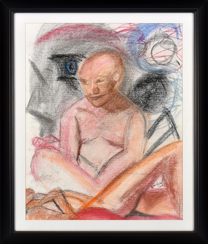Lemon Street Gallery & Artspace, Kenosha • 7/23/19 • Pastel