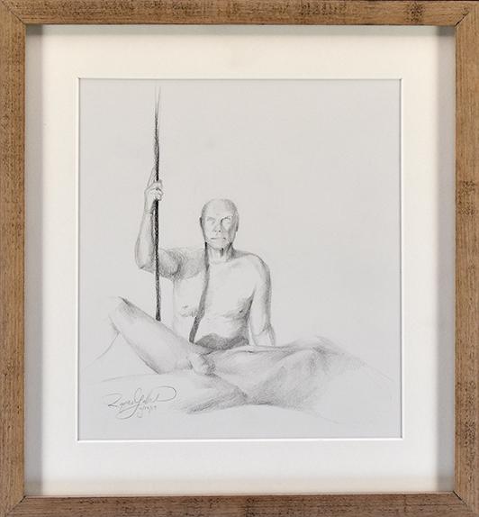 Lemon Street Gallery & Artspace, Kenosha • 10/29/19 • Graphite