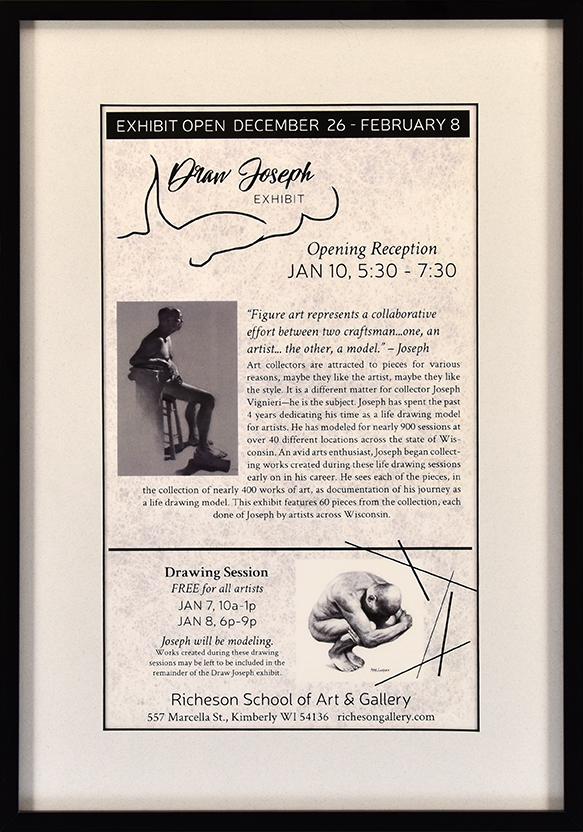 Wisconsin Art League • Jan. 2020 • Commercial flyer