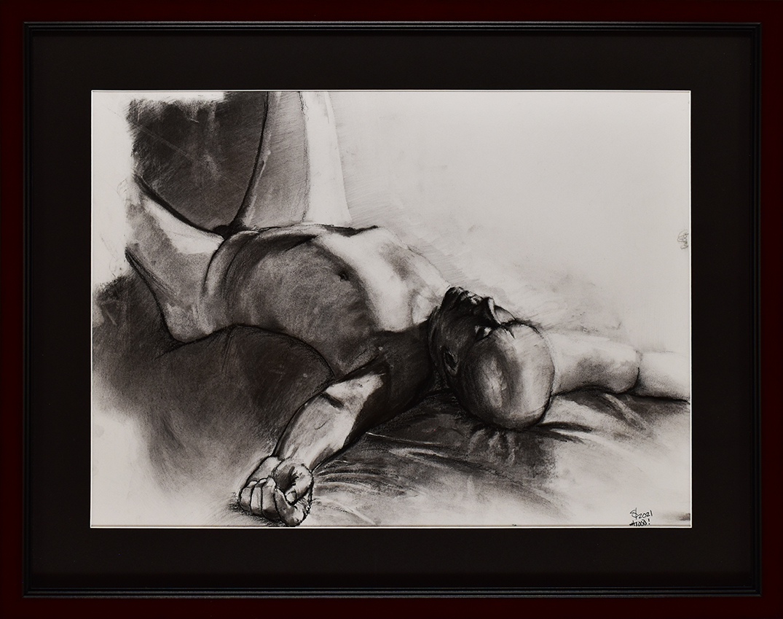 Draw Joseph Studio • 3/4/21 • Charcoal