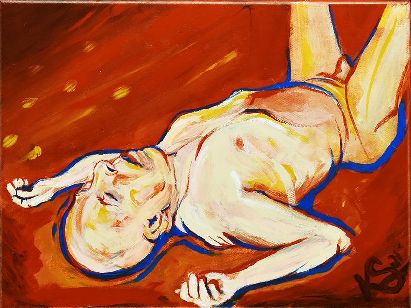 Draw Joseph Studio • 4/6/21 • Acrylic on Canvas